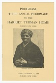 view Program from the Third Annual Pilgrimage to the Harriet Tubman Home digital asset number 1