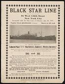 view Broadside for the Black Star Line digital asset number 1