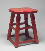 view Corner stool from Dundee's 5th St. Gym digital asset number 1