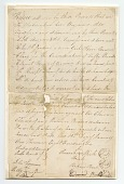 view Bill of sale for a girl named Clary purchased by Robert Jardine for 50 pounds digital asset number 1