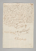 view Spanish colonial document related to slavery in Peru digital asset number 1