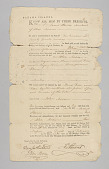 view Bahamian bill of sale for enslaved individuals, Trim and Flora digital asset number 1