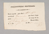 view General Collection form for the Brazilian ship Convenção digital asset number 1