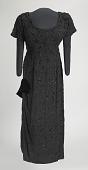 view Black beaded dress designed by Zelda Wynn and worn by Ella Fitzgerald digital asset number 1