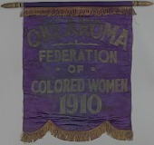 view Banner used by the Oklahoma Federation of Colored Women's Clubs digital asset number 1