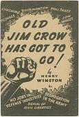 view <I>Old Jim Crow Has Got to Go!</I> digital asset number 1