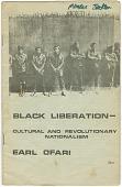 view <I>Black Liberation - Cultural and Revolutionary Nationalism</I> digital asset number 1