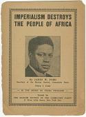 view <I>Imperialism Destroys the People of Africa</I> digital asset number 1