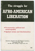 view <I>The Struggle for Afro-American Liberation</I> digital asset number 1