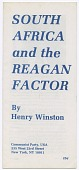 view <I>South Africa and the Reagan Factor</I> digital asset number 1