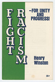 view <I>Fight Racism - For Unity and Progress</I> digital asset number 1