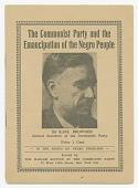 view <I>The Communist Party and the Emancipation of the Negro People</I> digital asset number 1