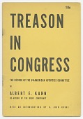 view <I>Treason in Congress: The Record of the Un-American Activities Committee</I> digital asset number 1