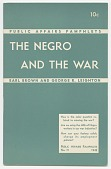 view <I>Public Affairs Pamphlets No. 71: The Negro and the War</I> digital asset number 1