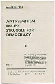 view <I>Anti-Semitism and the Struggle for Democracy</I> digital asset number 1