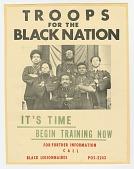 view Flier for the Troops for the Black Nation digital asset number 1