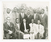 view Photograph of Frances Albrier and ten Congolese teachers digital asset number 1