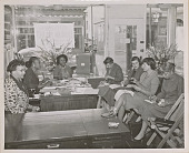 view Photograph of NCNW press conference with San Francisco newspaper editors digital asset number 1