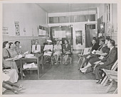view Photograph of citizenship education class at San Francisco NCNW headquarters digital asset number 1