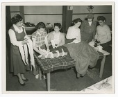 view Photograph of Frances Albrier instructing a first aid class digital asset number 1