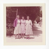 view Chromogenic print of Frances Albrier with two unidentified women digital asset number 1