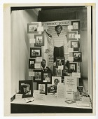 view Photograph of a Black History Week display in Oakland, CA digital asset number 1