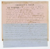 view Notice of an impending sheriff's sale of 7 enslaved persons digital asset number 1