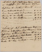 view Account of hires of enslaved persons belonging to Apphia Rouzzee for 1812 digital asset number 1