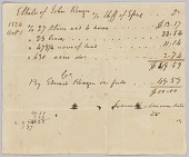view Record of taxes on property, including enslaved persons, owned by John Rouzee digital asset number 1