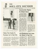 view <I>The Soul City Sounder Vol. III, No. 5</I> digital asset number 1