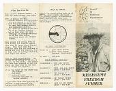view Leaflet for Mississippi Freedom Summer digital asset number 1