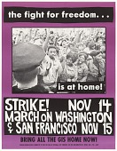 view Poster with anti-war message by the Student Mobilization Committee digital asset number 1
