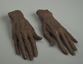view Life casts of Eubie Blake's hands digital asset number 1