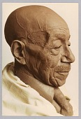 view Color photograph of the bust of Eubie Blake by the artist Bob Walker digital asset number 1