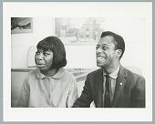 view Photograph of Nina Simone with James Baldwin digital asset number 1