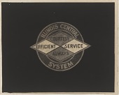 view Illinois Central Railroad logo digital asset number 1