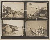 view Gelatin silver print of four 1927 Mississippi River flood images digital asset number 1