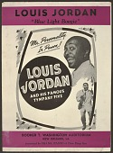 """view <I>Louis Jordan """"Blue Light Boogie"""": Mr. Personality, In Person!</I> digital asset number 1"""