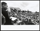 view <I>Dr. King Delivering His Speech</I> digital asset number 1