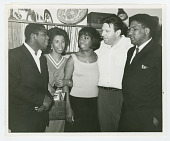 view Photograph of McDew, Hansberry, Simone, Bikel, and Forman digital asset number 1