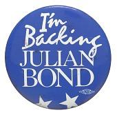 view Pinback button for Julian Bond digital asset number 1