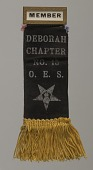 view Member badge for the Deborah Chapter of the Order of the Eastern Star digital asset number 1