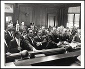 view <I>Arraignment of Sit-In Demonstrators arrested at Memphis Public Library, March 1960</I> digital asset number 1