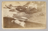 view Photographic postcard of an unidentified victim of the Tulsa Race Massacre digital asset number 1