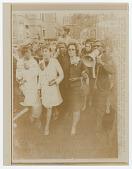 view Print of Coretta Scott King leading a Mother's Day march for welfare rights digital asset number 1