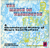 view <I>The March on Washington: A Chronological History of Negro Contributions</I> digital asset number 1