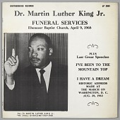 view <I>Dr. Martin Luther King Jr. Funeral Services</I> digital asset number 1