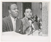 view Photograph of Joe Louis and William Rowe digital asset number 1