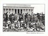 view <I>Civil Rights Demonstration, Washington, DC</I> digital asset number 1