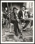 view <I>James Baldwin in Emirgan tea house trying hookah, Istanbul 1965</I> digital asset number 1